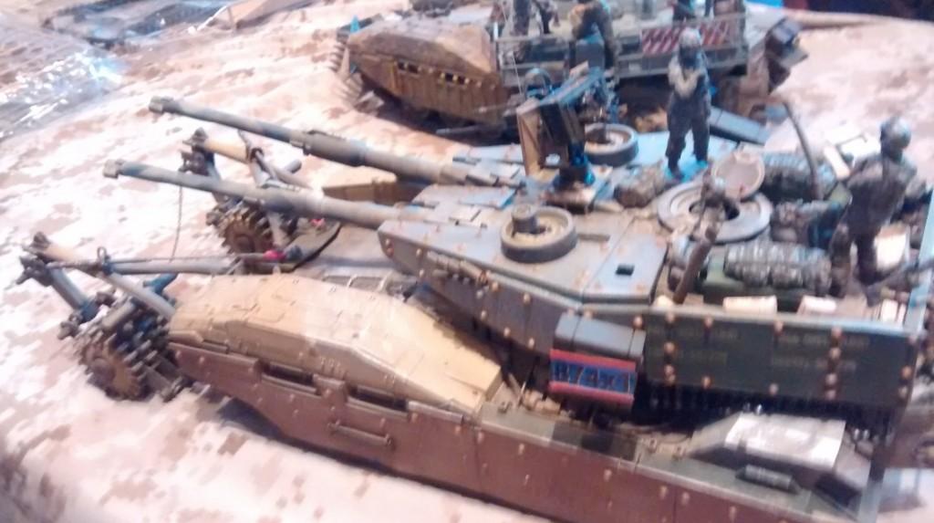 M-61-A5 MBT Main Battle Tank Semovente Phantom Element der EFGF Earth Federation Ground Force von Joachim Sauer / Maintal