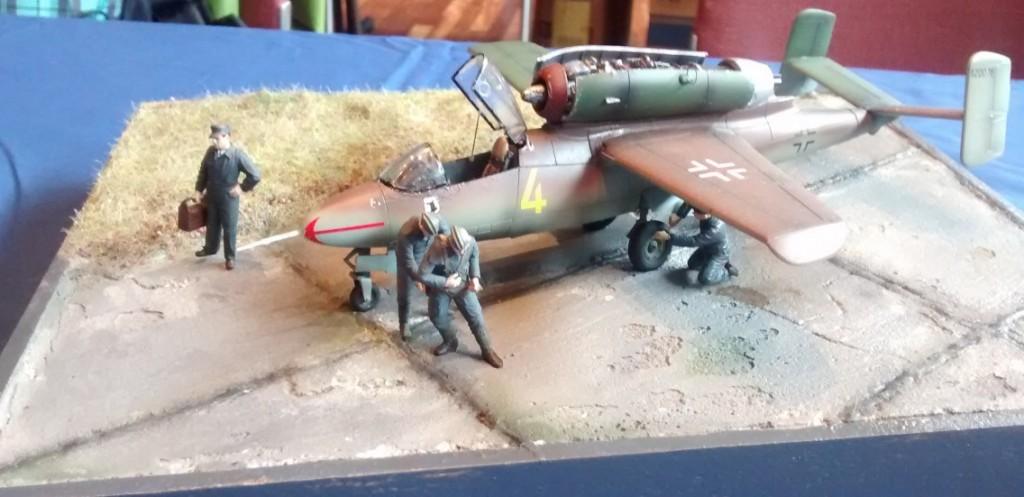 """Heinkel He-162 """"Salamander"""" - auch """"Volksjäger"""" genannt"""