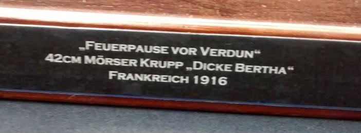 """42cm Mörser Krupp """"Dicke Bertha"""""""