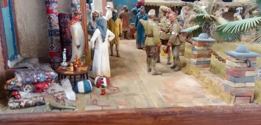 Diorama Arabischer Markt in Al Hamid