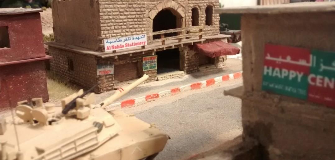 """Diorama """"Iraqi Freedom"""" von Hannemeister's Modellbau"""