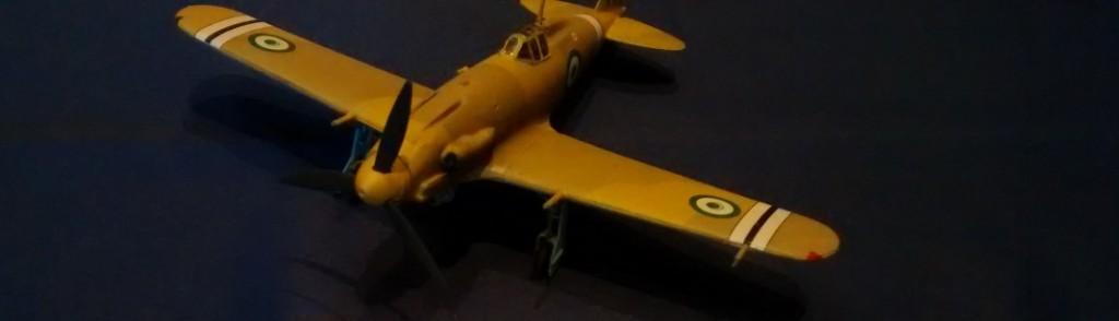 Jagdflugzeug Macchi MC-205 Veltro der Royal Egyptian Air Force im Jahr 1949