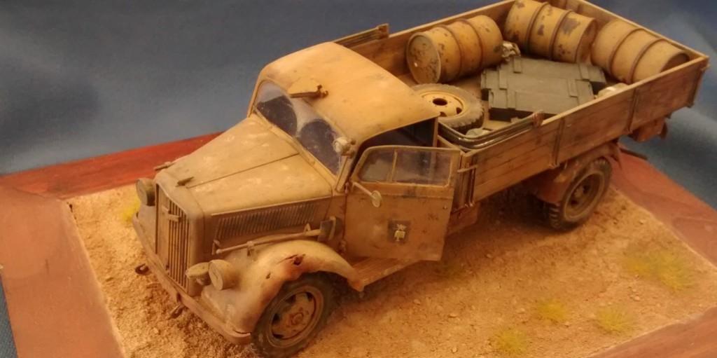 Opel Blitz 3to des Afrika-Korps von Tamiya