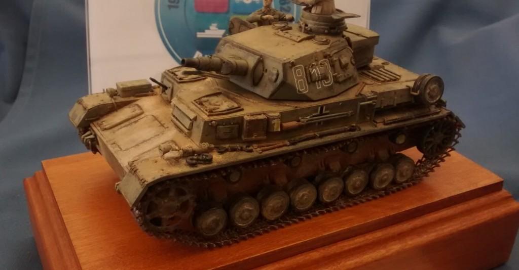 Panzer IV Ausf. D des Panzerregiment 8 der 5. leichte Division in Libyen im Jahr 1941 von Dragon
