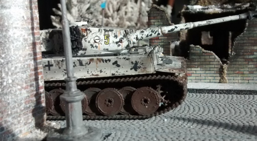 Panzerkampfwagen VI Tiger I auf der Behind-Omaha-Spielplatte