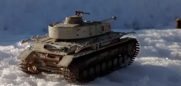 Panzerkampfwagen IV mit Ostkette