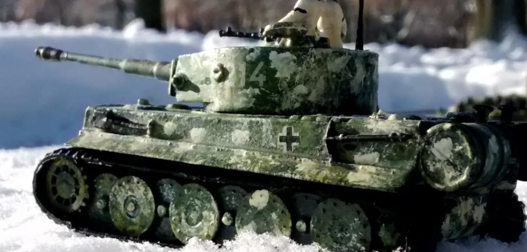 Panzerkampfwagen VI Tiger I im Schnee