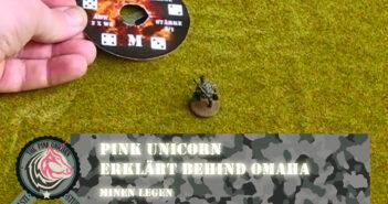 Minen legen: Pink Unicorn erklärt Behind Omaha