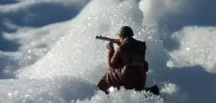 Russischer Infanterist
