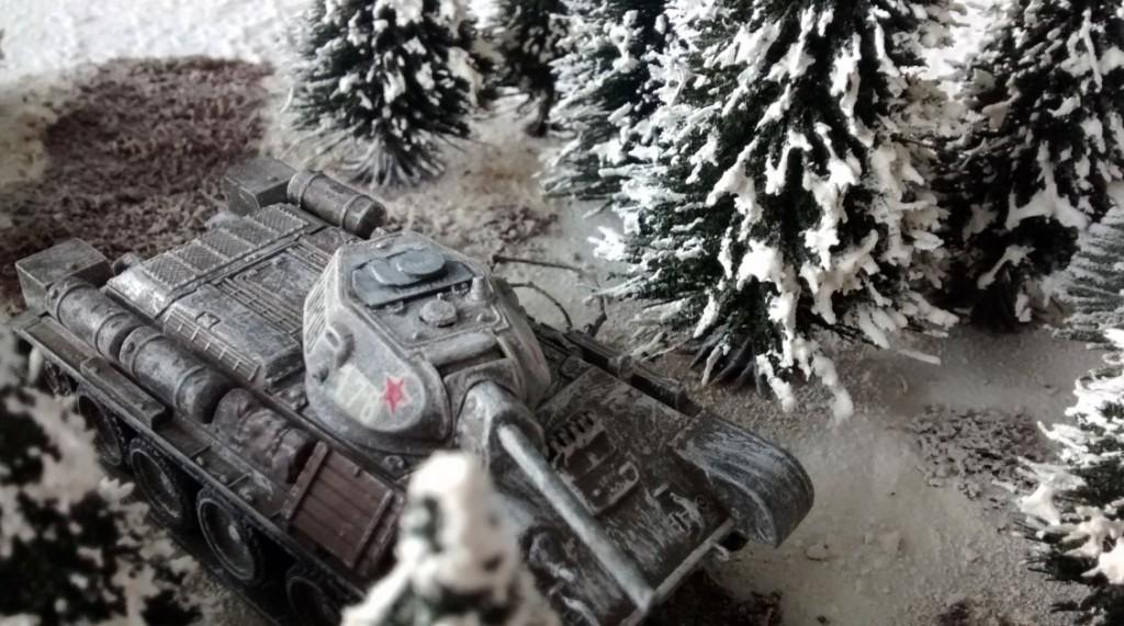 T-34/76 auf der Behind-Omaha-Spielplatte