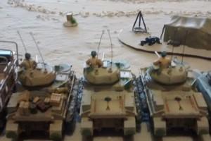 "Tisch 2 Szenario ""Afrika, 1942, El Alamein"" Spielplatte ""Afrika 2"" 120 x 180cm"