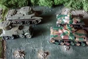 """Tisch 3 Szenario """"Schlacht am Chalchin Gol, 1939"""" Spielplatte """"Mongolei"""" 120 x 180cm"""