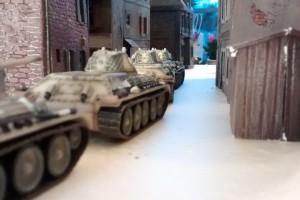 """Tisch 9 Szenario """"Schlacht um Moskau, 1941"""" Spielplatte """"Kaltes Land"""" 120 x 180cm"""