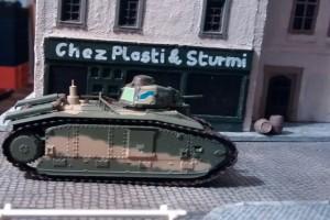 """Tisch 12 Szenario """"Schlacht um Boulogne, 1940"""" Spielplatte """"Prochorowka 3"""" 120 x 180cm"""