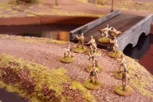 """Tisch 13 Szenario """"Schlacht an der Scheldemündung, 1944"""" Spielplatte """"Schelde"""" 180 x 180cm"""