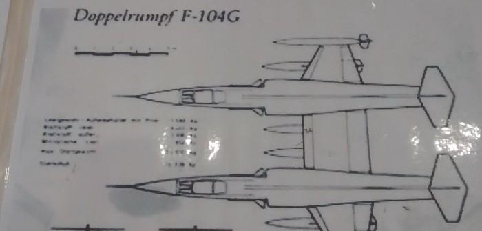 Fotostrecke: F-104G Twin-Starfighter / Doppelrumpf