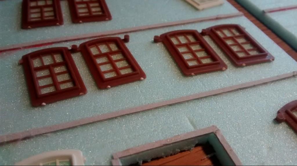 Auhagen-Fenster auf Trittschalldämmung