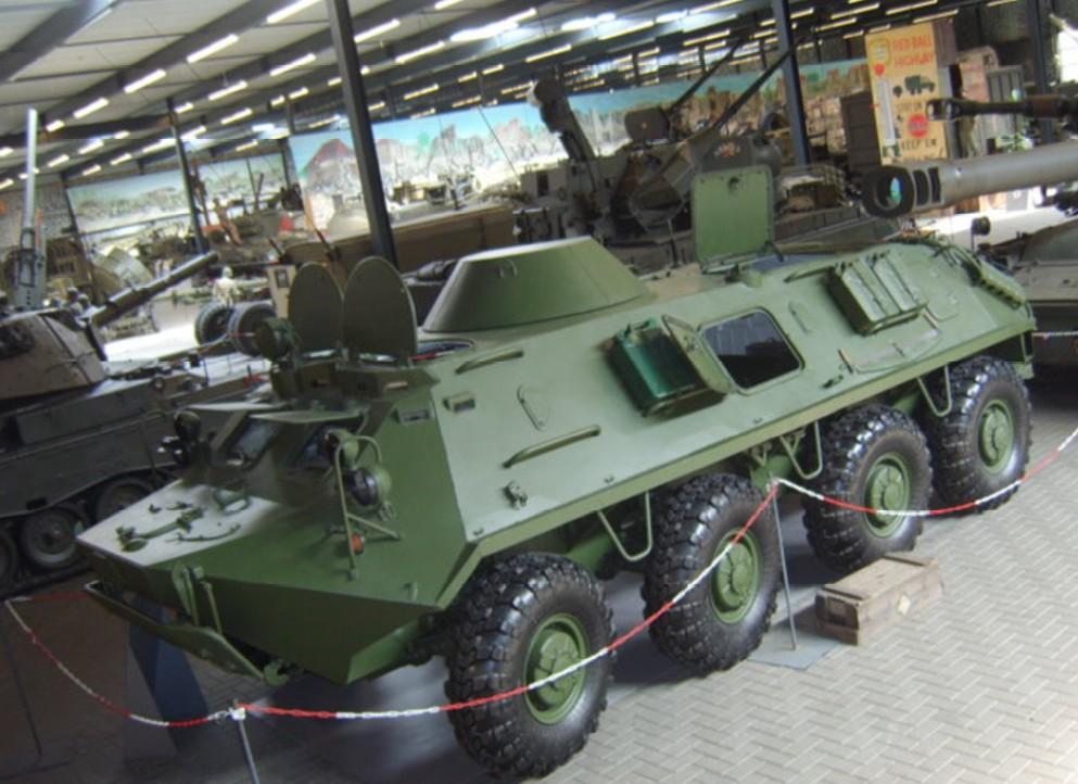 Der Schützenpanzer BTR-60 der NVA ist für mich ein Must-Have im NVA-Forum. Das original steht im Oorlogsmuseum Overloon