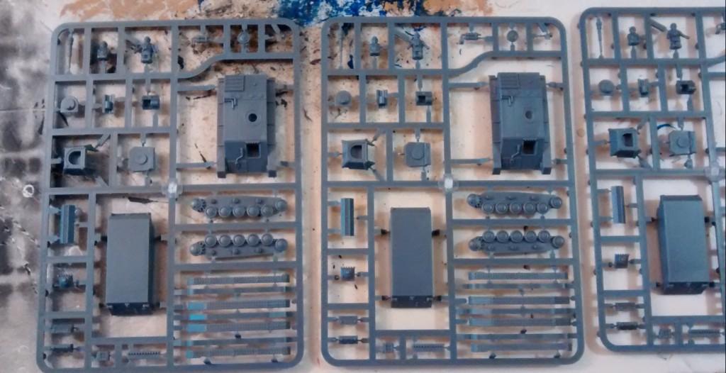 PSC Russian T70 Tank - Die Gussäste