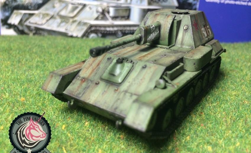 Auf Augenhöhe: SU-76 Selbstfahrlafette von UM Ukraine Models (Art.No 304)
