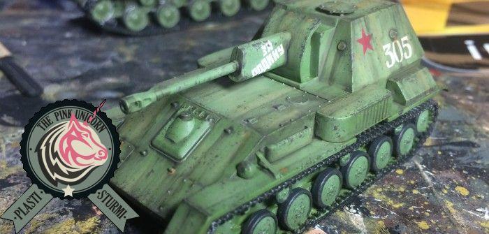 SU-76, gebaut vom Panzerschmied: let's build mit UM-Bausatz 304