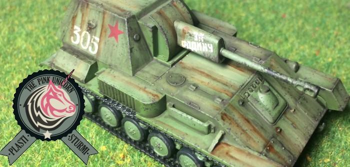SU-76 Selbstfahrlafette: mehr Fotos, mehr Details