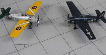 """Wildcat: die Legende """"Grumman F4F Wildcat"""" im Modell"""