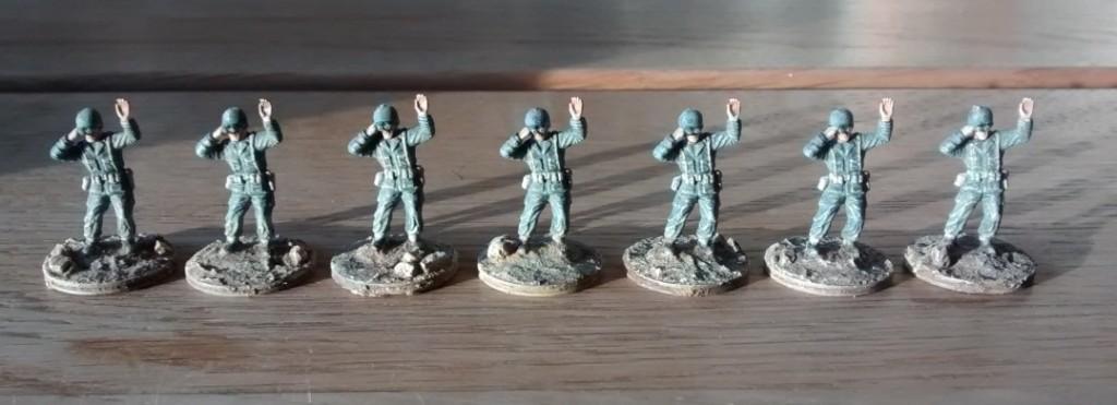 Späher hat es sieben Stück - bis jetzt. Vier davon werden zum 1. Bataillon gehen, die anderen drei kommen eventuell zur Combat Support Group.