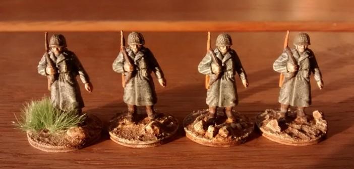Auch diese vier Schützen stammen vom Jahresanfang. Wer mitgerechnet hat, wird feststellen, dass dem 1. Btaillon noch ein paar Mannen fehlen. Das nächste Wochenende könnte da Abhilfe schaffen...