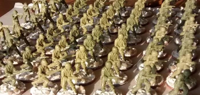 Matchbox American Infantry #4: 104 Rekruten angetreten