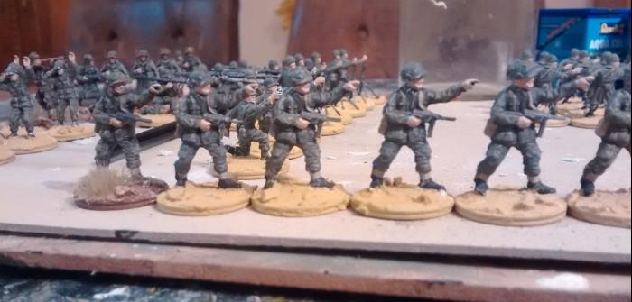 Matchbox American Infantry #4: die 69th Infantry Division rekrutiert