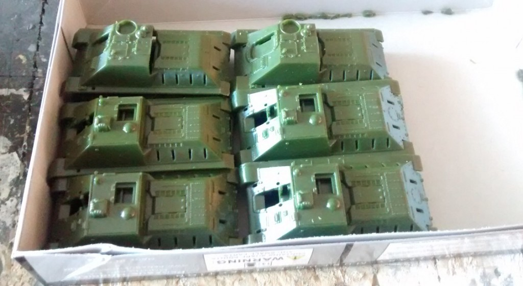 Ab mit der SU-122 ins Kasterl. Die SU-85M ruft.