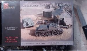 """Einfach ein geiler Keiler: die Pegasus 7664 """"Soviet Self Propelled Howitzer SU-122"""""""