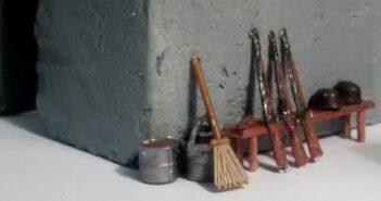Regelbau M 272 #3: Ausstattung Gefechtsraum, Gänge, Munitionskammer