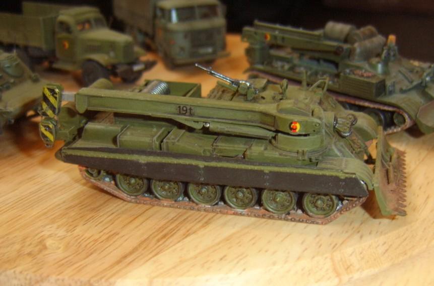 Ein T-72-Bergepanzer der NVA