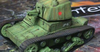 T-26 mit A43-Turm: Panzerschmied baut den UM Bausatz No. 314