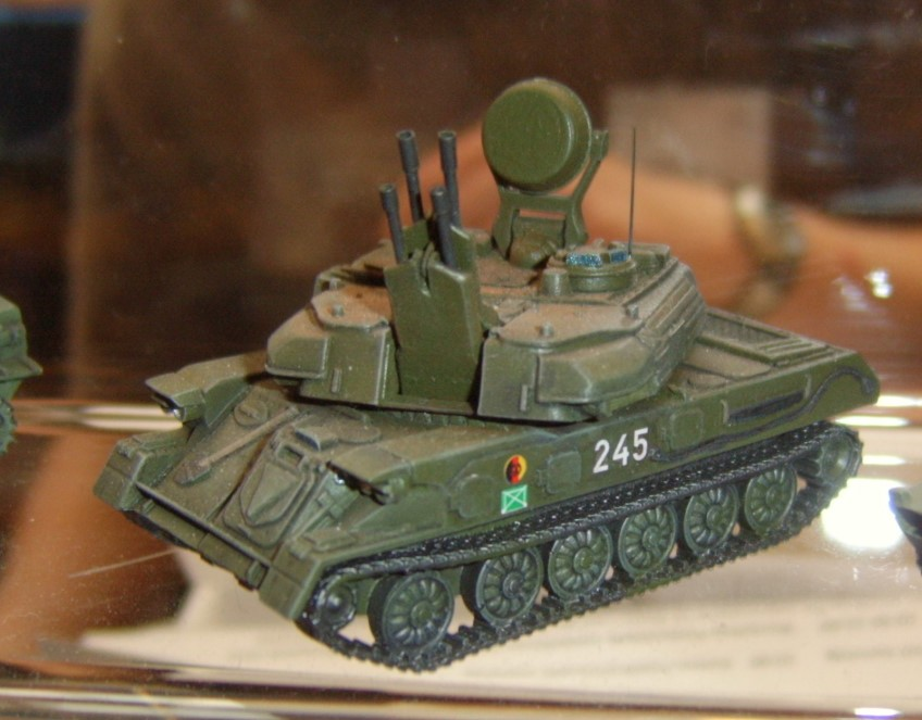 Der Flak-Panzer ZSU-23/4 Schilka der NVA
