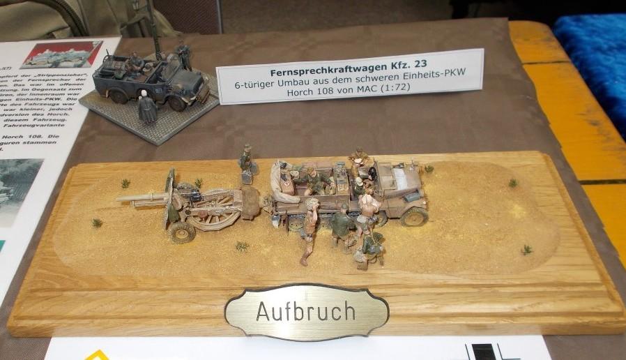 Der Fernsprechkraftwagen 23 als anspruchsvoller Umbau.