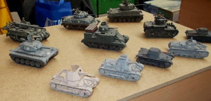 Die Varianten des Panzerkampfwagen I erfreuen das Auge des Sturmi...