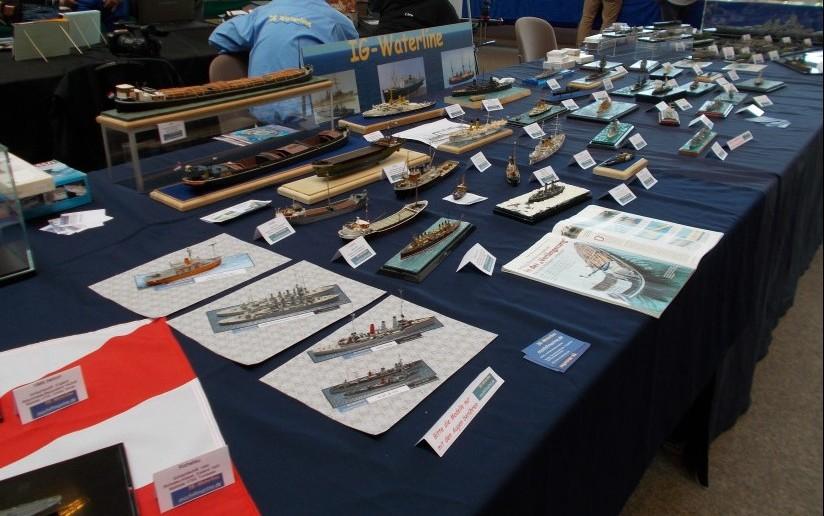Auch bei der IG Waterline dominieren maritime Exponate.