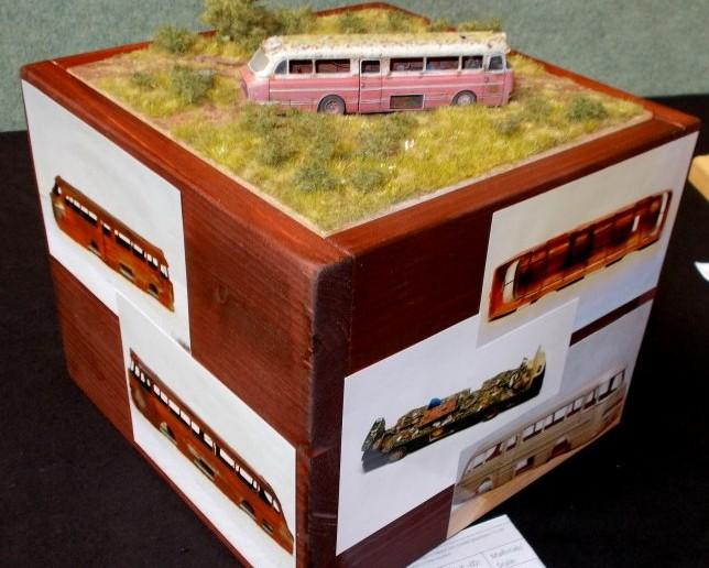 Ein verlassener Omnibus