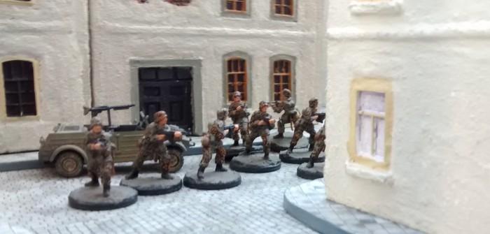 Das Grenadier-Regiment 736 in Saint-Aubin