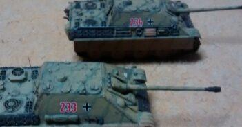 Tanks 4 Sale: Sahneschnitten aus der Sturmi Army