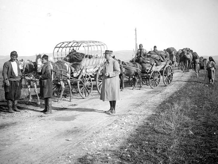 Die Straße der Karawanen nach der Teilung des osmanischen Reichs. Dezember 1918.