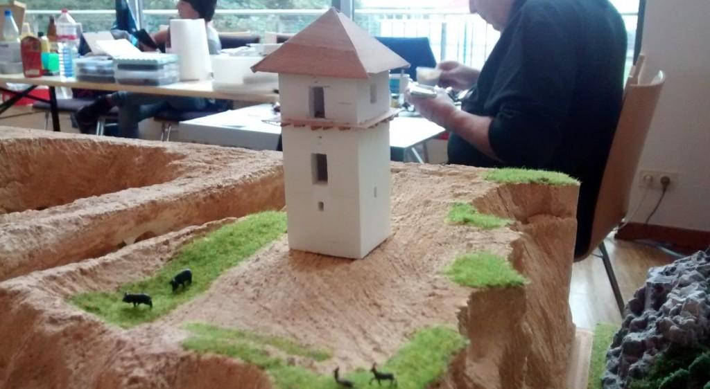 Naklar findet sich auch ein römischer Wachtturm in Rheinhessen.