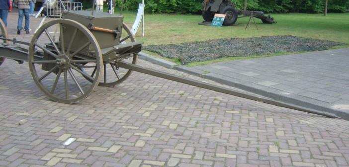 """Die niederländische 57mm Feldkanone """"Vuurmond 6 Veld"""""""