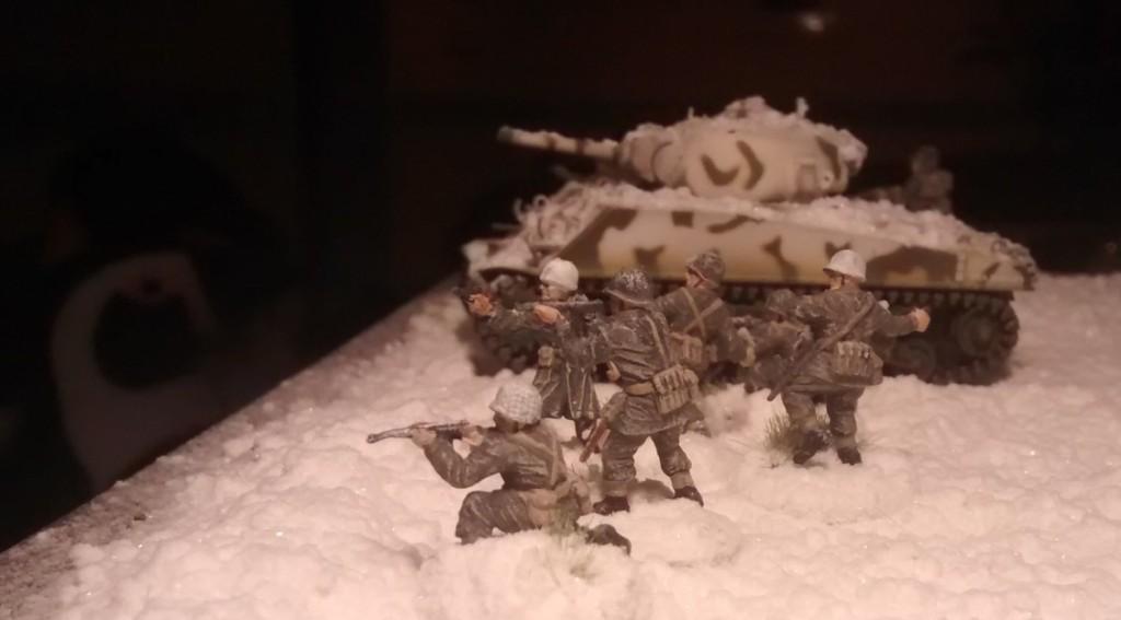 Die GIs der 99th Infantry Division im Einsatz für Hauptmann Alsdruf