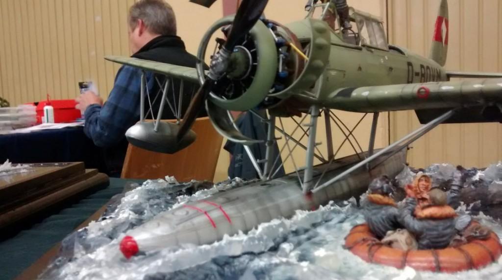 Detailaufnahme der Arado 196B V4