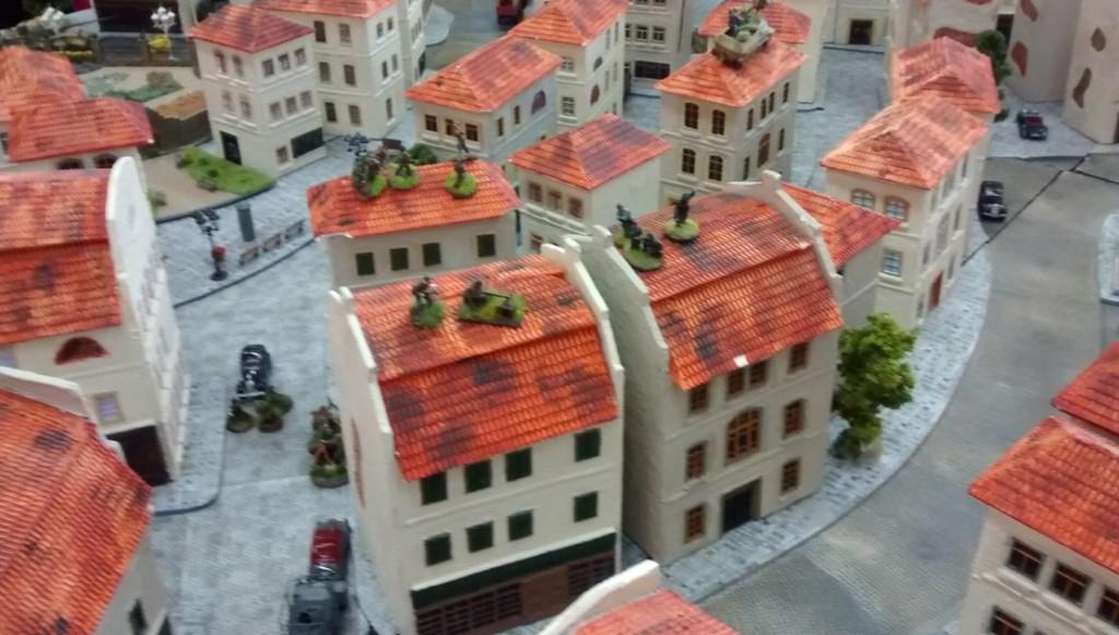 Die Panzergrenadiere des Sofageneral Jarno haben mittlerweile fast die ganze City besetzt.