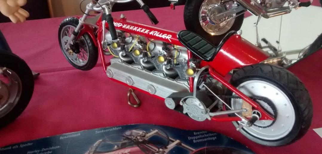 "Werners ""Red Porsche Killer"" vom Frankfurter Plastik Modellbau Fan Club e.V."